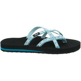 Teva Olowahu Sandals Women sari ribbon graymist